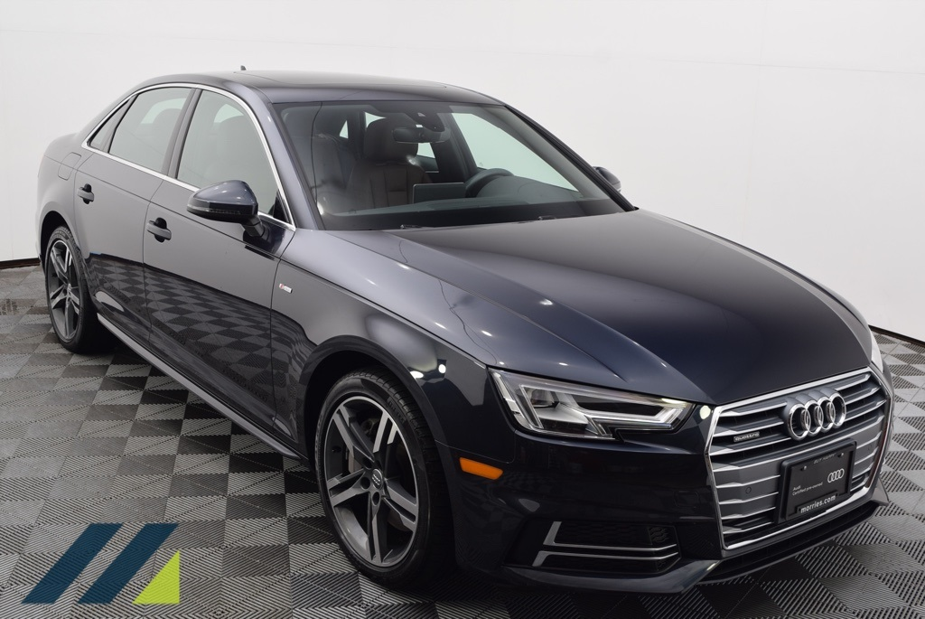 Pre-Owned 2018 Audi A4 2 0T Premium Plus quattro quattro 4D Sedan