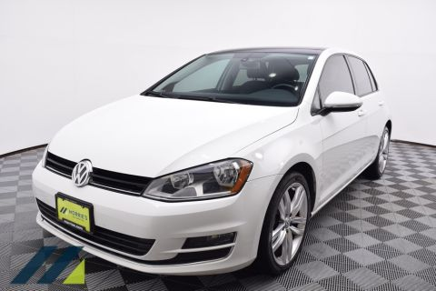 Pre-Owned 2015 Volkswagen Golf TDI SEL 4-Door FWD 4D Hatchback